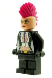 Crimson Viper (Street Fighter) - Custom Designed Minifigure